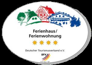 Deutscher Tourismusverband - 4 Sterne - Badge/Auszeichnung