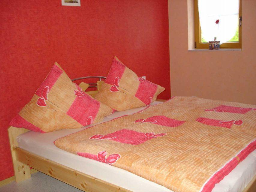 Ferienwohnung Freudensprung - Schlafzimmer 1 Groß