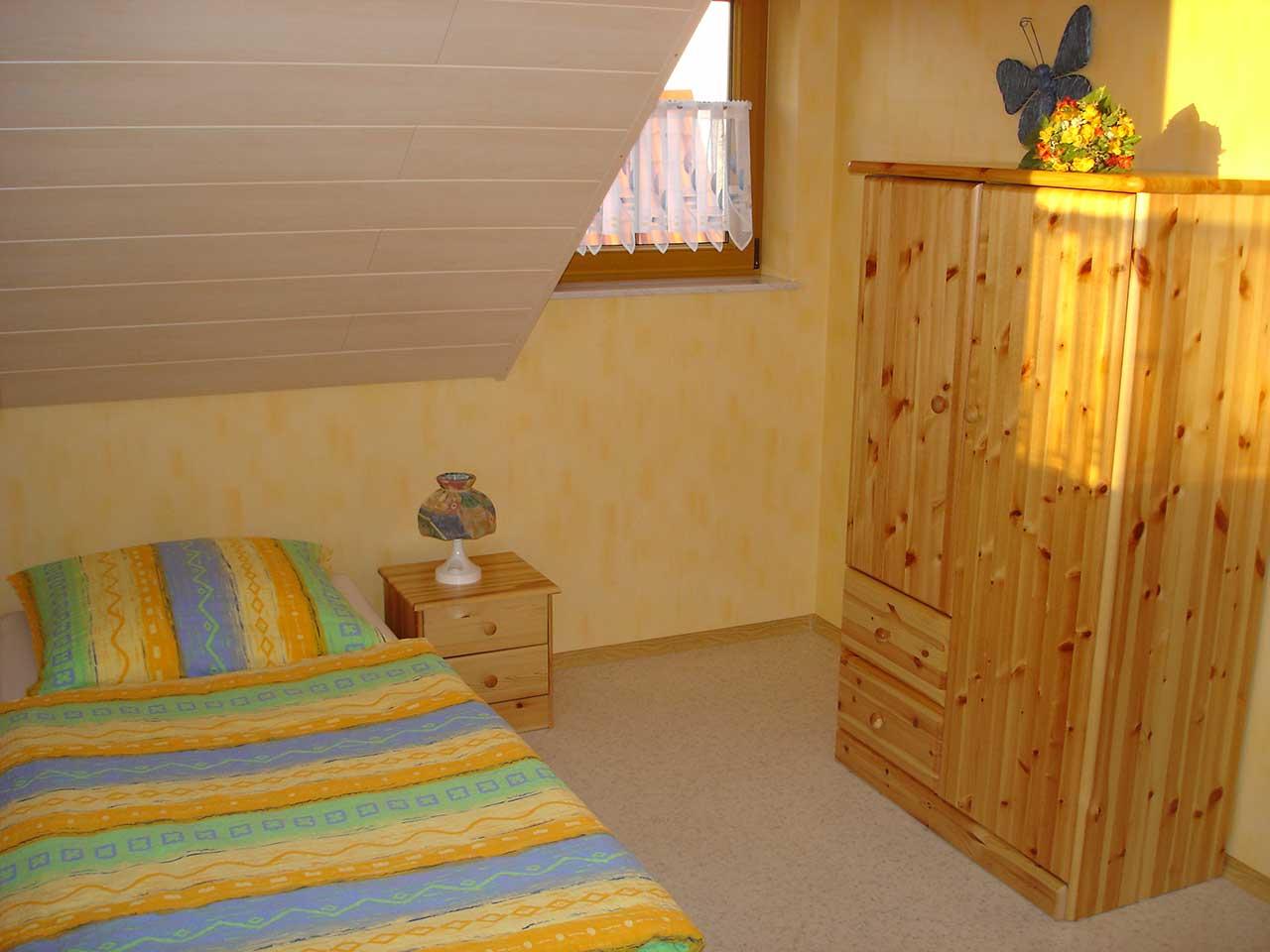 Ferienwohnung Freudensprung - Schlafzimmer 2 - Ansicht 2