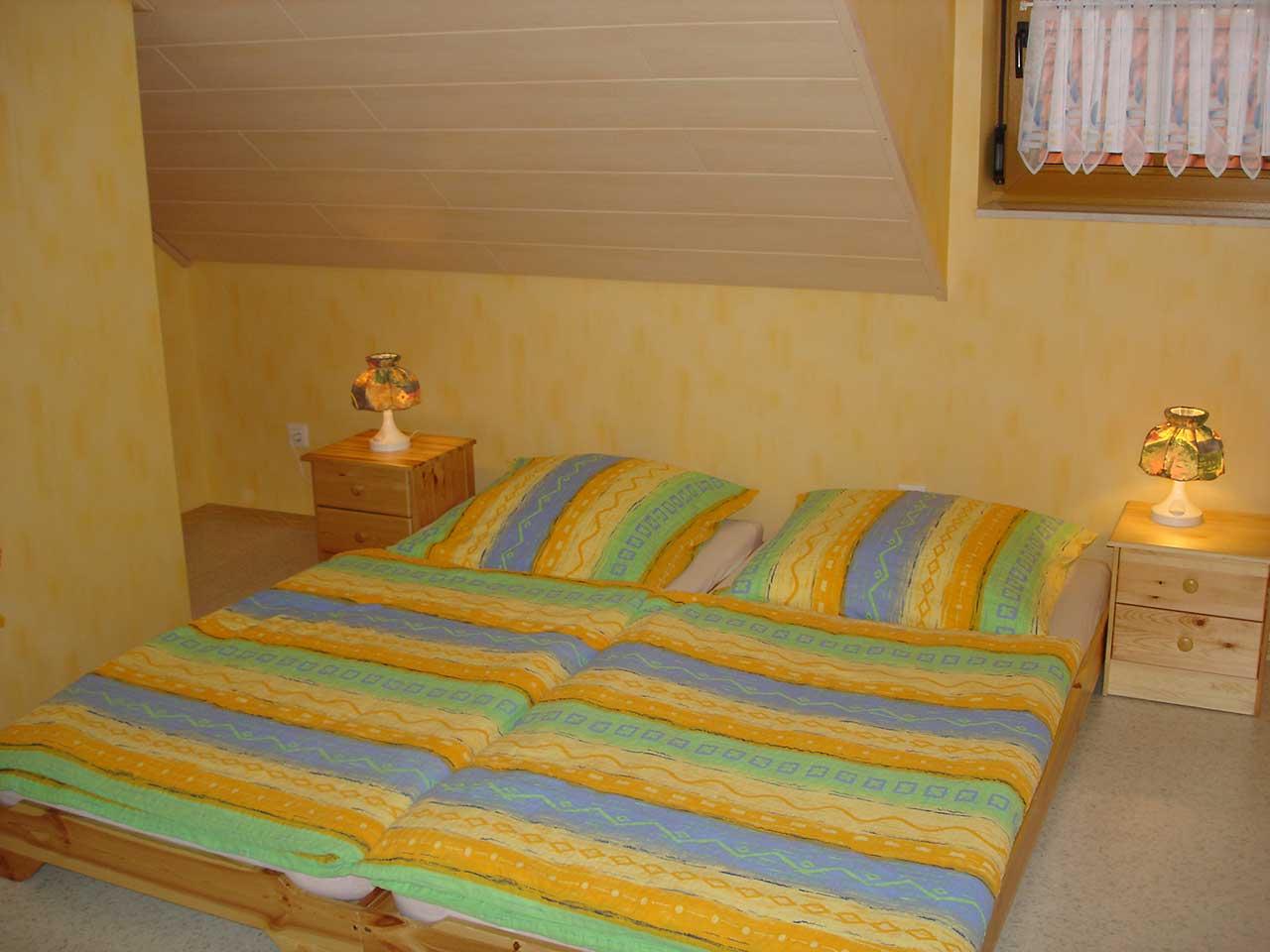 Ferienwohnung Freudensprung - Schlafzimmer 2 - Ansicht 3