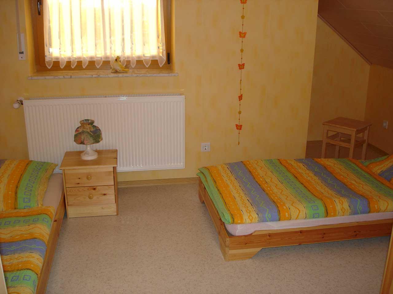 Ferienwohnung Freudensprung - Schlafzimmer 2 - Ansicht 1