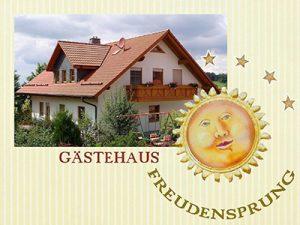 Das Logo der Ferienwohnung Freudensprung